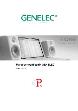 Maloobchodní ceník GENELEC