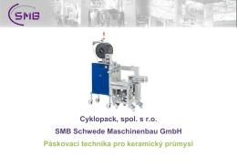 Technická data - SMB Schwede Maschinenbau GmbH