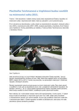 J. Vepřeková - Dokument aplikace Microsoft Office Word