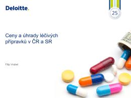 Ceny a úhrady léčiv