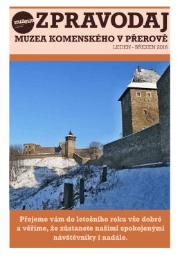 Zpravodaj MKP 1-2016 - Muzeum Komenského v Přerově