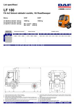 LF 180 - DAF Trucks Praha