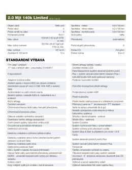 2.0 Mjt 140k Limited (609.73A.0)