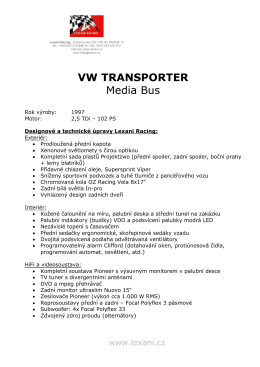 VW TRANSPORTER Media Bus