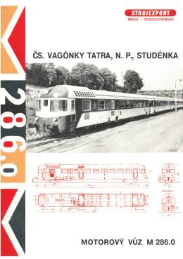 ČS. VAGÓNKY TATRA, N. P., STUDÉNKA
