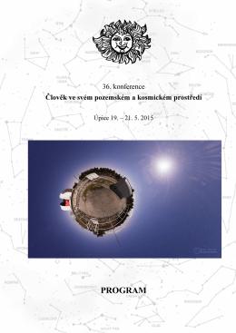 Program celý - Hvězdárna v Úpici