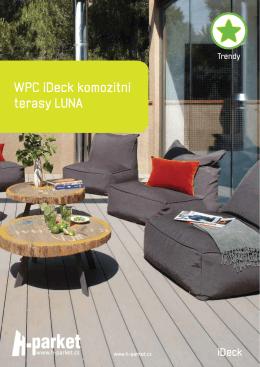 Katalog WPC kompozitní iDeck Luna