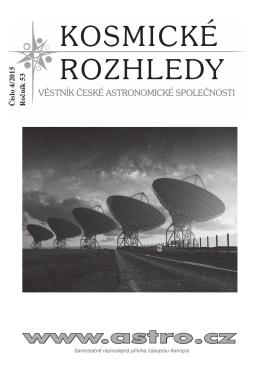 4/2015 - Česká astronomická společnost