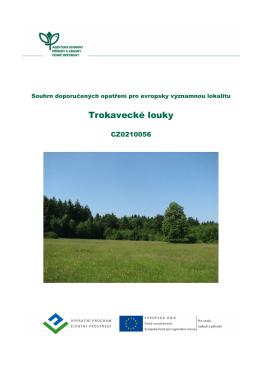 Trokavecké louky - Regionální pracoviště Střední Čechy