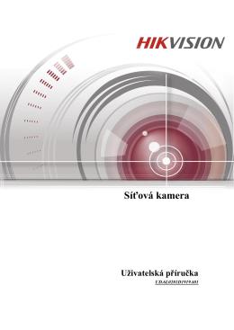 Síťová kamera - hikvision europe