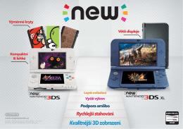 New 3DS katalog - Mojenintendo.cz