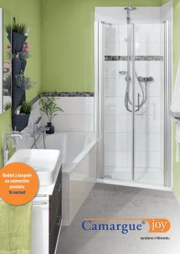 Radost z koupele na nejmenším prostoru 16 variant