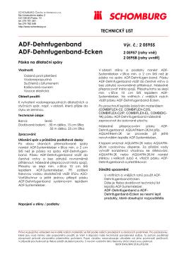 ADF-Dehnfugenband ADF-Dehnfugenband