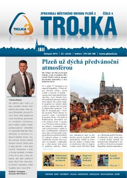 Plzeň už dýchá předvánoční atmosférou