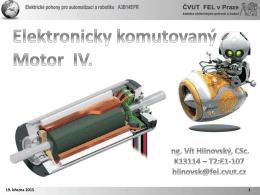 Elektronicky komutovaný motor