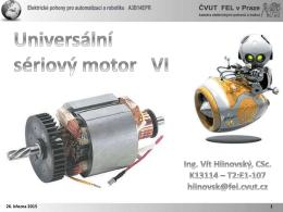 6 _ Univerzální seriový motor