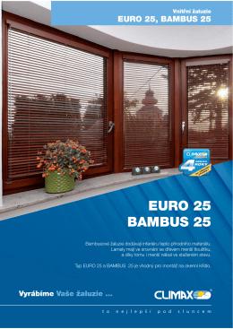 EURO 25 BAMBUS 25