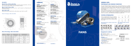 low pressure fans - Janka Engineering