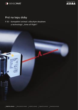 Kompaktní snímač s dlouhým dosahem