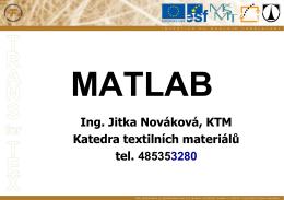 Programování v Matlabu