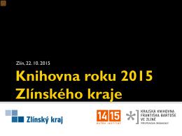 Knihovna roku 2015 Zlínského kraje