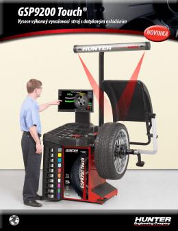 GSP9200 Touch® v přehledu
