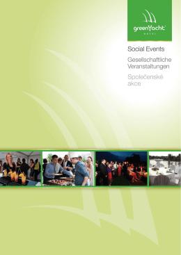Nabídka pro Events GreenYacht 2015
