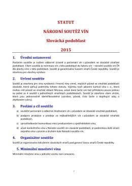 Statut Slovácké podoblasti 2015