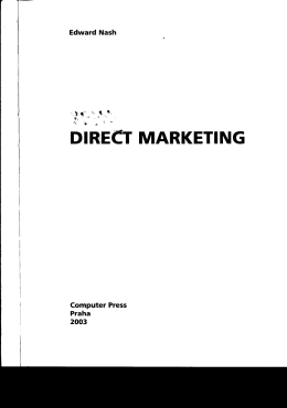 DIR,ECT MARKETING