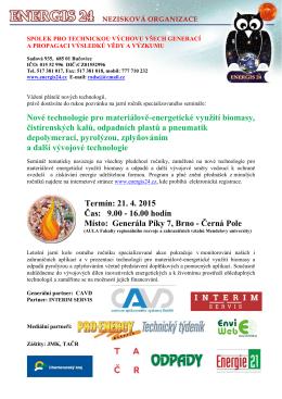 program konference energis 2015