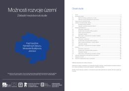 Možnosti rozvoje území: Kraj Vysočina - Náměšť