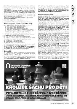 Řešení diagramů 111 - Československý šach