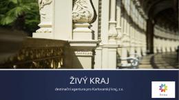 ŽIVÝ KRAJ - Regionální konference cestovního ruchu 2015