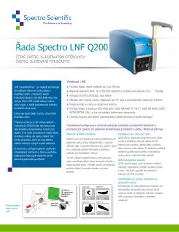 Spectro Q200 LNF new