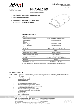 KKR-AL01/D - leták - AMiT