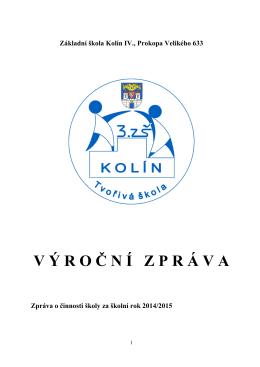 Výroční zpráva 2014/2015