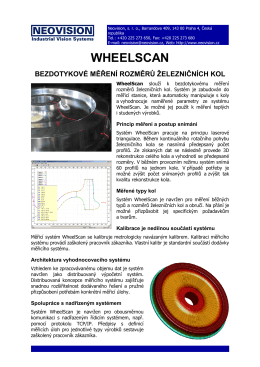 WHEELSCAN - Neovision sro