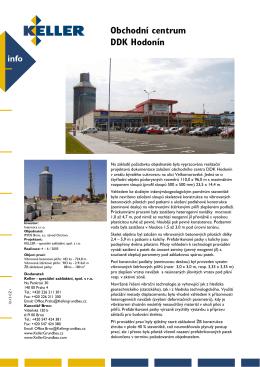 Obchodní centrum DDK Hodonín