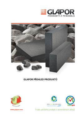 Produkty GLAPOR - Pěnové sklo.de