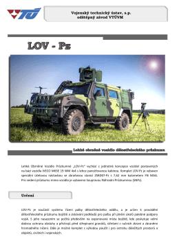 Vojenský technický ústav, s.p. odštěpný závod VTÚVM Určení