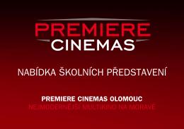 premiere cinemas olomouc nejmodernější multikino na moravě