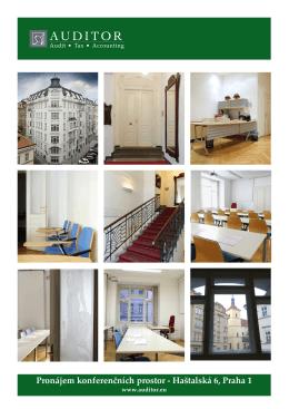 Pronájem konferenčních prostor - Haštalská 6, Praha 1