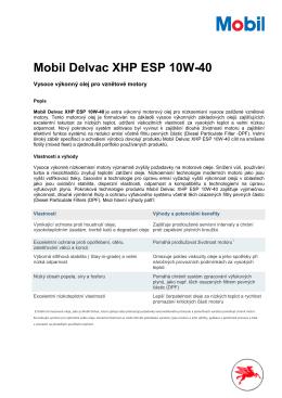 Mobil Delvac XHP ESP 10W40 TL 2015_07