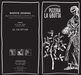 tel. 326 997 006 - Pizzeria La Grotta Čelákovice
