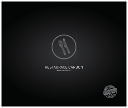 RESTAURACE CARBON - CARBON restaurace