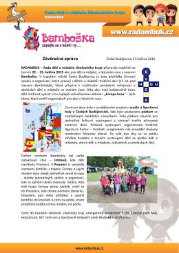 23.5.2015 v Českých Budějovicích – RADAMBUK