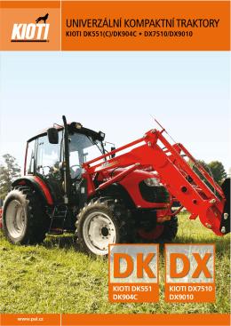 Traktory Kioti DK