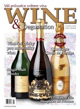 vánoční dárky - WINE & Degustation