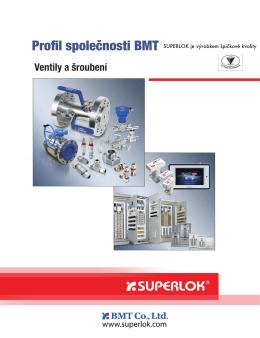 Přehled produktů SUPERLOK - Ventile & Fittings Praha