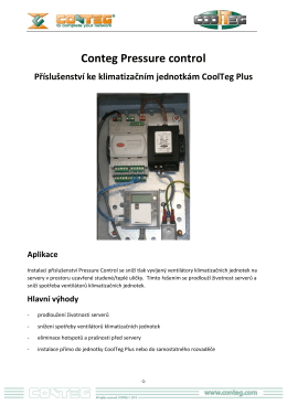 Data sheet - Presurre control 1504024_CZ
